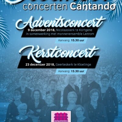 Cantando_poster decemberconcerten A4_11-18